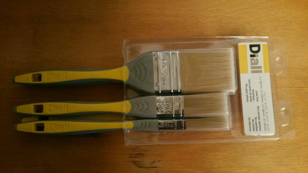 Diall Paint Brushes - New