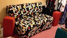 Ikea double sofa bed as new