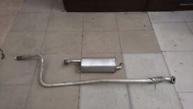 Ford Fiesta exhaust and back box