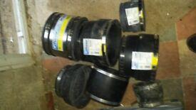 flexseal underground drainage rubber coupler SC290,