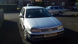 Vw golf diesel hatch back