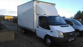 2008 ford transit luton 2.4 tdci 115 in excellent condition all round