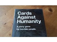 Cards Against Humanity, UK Edition (card game for adults) - NEW, SEALED