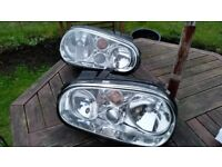New mk 4 vw golf Head lamps with built in fog lamp