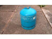 Camping Gaz butane gas cylinder 2.75 kg around 30% full