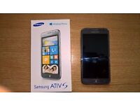 SAMSUNG ATIV S WINDOWS MOBILE PHONE MODEL GT-18750