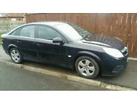 Vauxhall vectra face lift front end