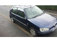 Cheap reliable run about Peugeot 106 1.5 diesel.