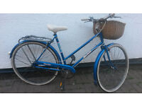 LADIES DUTCH STYLE TOWN BIKE WITH BASKET £70