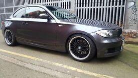 BMW 123D - 108K - Sat Nav + Heated Seats not 118d, 116, 120d Audi a3 s3 gti