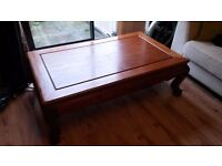Rosewood coffee table (matching TV stand available!)