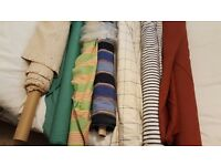 Curtain/ upholstery fabrics - designer labels from 3.00 p.m. upwardscsmall and large lengths