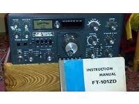 Yaesu FT101ZD HF Base Transceiver