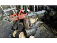 Chainsaw*Petrol*Logs