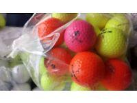 25 coloured inesis golf balls