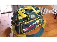 Columbia 300 Double Bag + Brunswick Grizz Bowling Ball + *FREE* AMF Hugger Ball