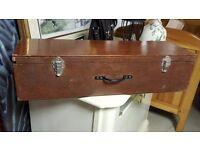 Vintage Wooden Locker In Good Condition