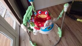 Baby Bouncer Jumper Music Toy Fisher Price Jumperoo Motion Activity Rainforest