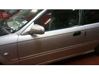 Honda Civic 1996-2000 Doors CHOICE OF COLOURS