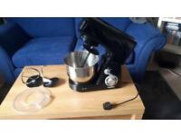 Finished Premier 650W Black Table Food Stand Mixer