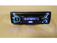 CAR HEAD UNIT SONY XPLOD N4100BT CD MP3 PLAYER WITH BLUETOOTH USB AUX NFC 4x 55 AMP STEREO RADIO BT