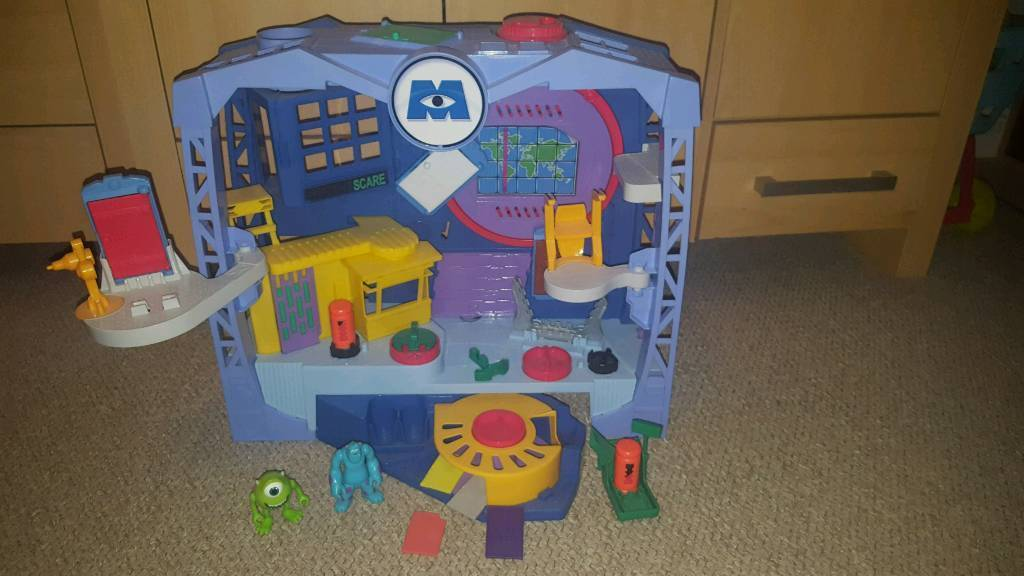 Imaginext Monsters University Monsters Scare Floor
