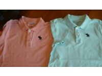 Abercrombie Kids 2 polo shirts 9/10 years
