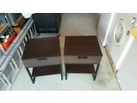 Ikea Trysil Bedside Tables x 2
