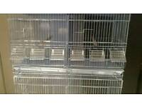 3x brand new double wire breeding cages