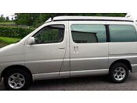 Campervan - Toyota Regius Hiace Four Wheel Drive
