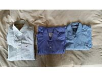 Shirts - Hollister, Crew & TM Lewin - £5