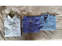 Shirts - Hollister, Crew & TM Lewin - £5