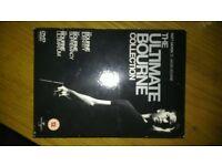 The Ultimate Bourne collection dvd matt Damon, 3 disc det