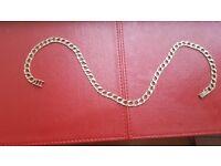 Mens gold chain 35gram