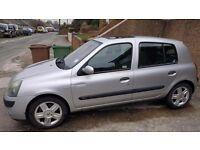 Clio 1.2 petrol 5 door