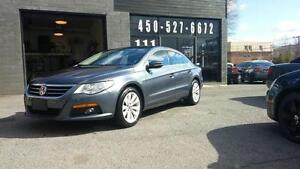 2010 VOLKSWAGEN CC BAS MILLAGE PARTICULIER 1 SEULE TAXE