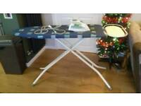 Morphy Richards iron plus ironing board and cover