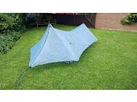 Hyperlite Mountain Gear Echo II cuban tent shelter Ultralite Ultralight Bivi