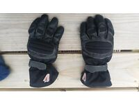 Hein Gericke women's gore-tex motorcycle gloves size XS