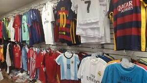 All kind of Replica Soccer jerseys and Team uniforms