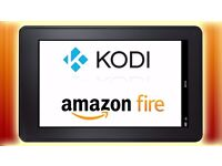 "AMAZON FIRE 7"",8gb TABLET WITH KODI,PLAY STORE,SHOWBOX,MEGABOX,MOVIE HD,UKTV NOW,SOLID STREAM TV,.."