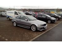 2004 BMW 320CD M SPORT LTD EDITION FULL YEARS MOT , FULL SERVICE HISTORY SWAPS FOR X5 OR MERCEDES ??