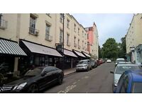 Clifton Village. Single room with desk in great shared maisonette.