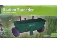 Garden spreader