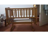 Baby Cot swing - suitable feom birth onwards