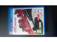 PS VITA with fifa and need for speed