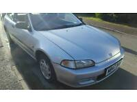 Honda civic dx owned for 17yrs