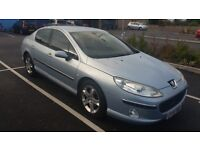 PEUGEOT 407 2.0 HDI DIESEL LONG MOT DRIVES WELL NO OFFERS SWAP PART EX CONSIDERED