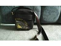 GUESS LEATHER MAN BAG