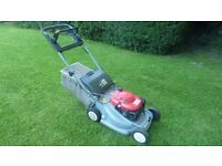 Honda 475 self propelled mower with blade brake clutch